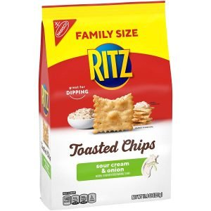 Ritz Toasted Sour Cream And Onion Potato Chips