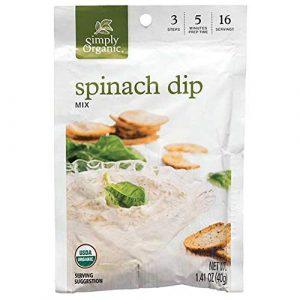 Simply Organic Spinach Dip Mix