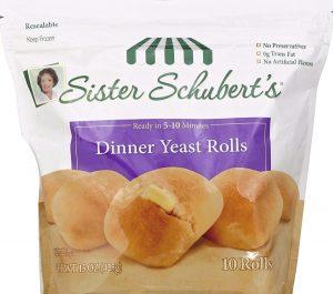 Sister Schubert Dinner Rolls