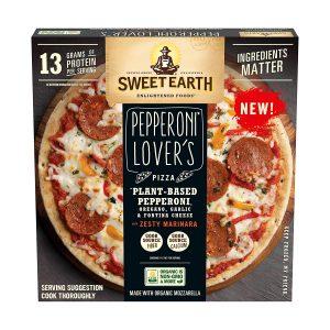 Sweet Earth Sweet Earth Pepperoni Lover's Frozen Pizza