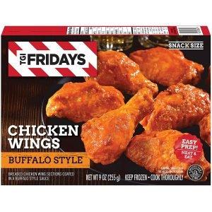 Tgi Fridays Buffalo Style Chicken Wings Frozen Snacks