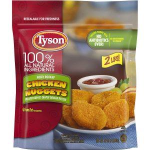 Tyson Frozen Chicken Nuggets