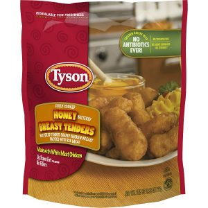 Tyson Fully Cooked Honey Battered Chicken Breast Tenders