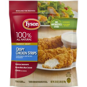 Tyson Fully Crispy Chicken Strips
