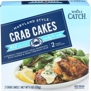 Whole Catch Crab Cakes