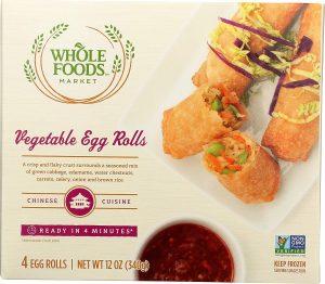 Whole Foods Market Vegetable Egg Rolls
