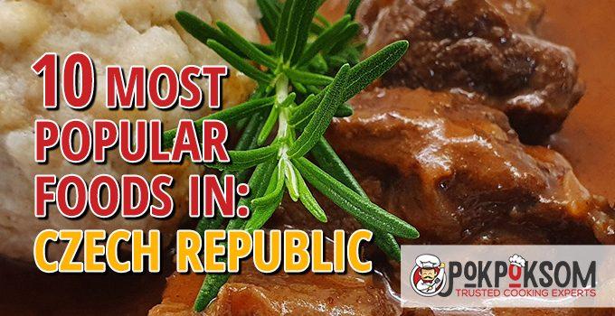 10 Most Popular Foods In Czech Republic