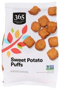 365 By Wfm Puffs Sweet Potato