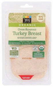 365 By Wfm, Turkey Oven Roasted Sliced Organic