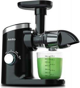 Aeitto Masticating Juicer Cold Press Juicer