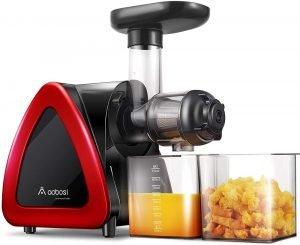 Aobosi Slow Masticating Juicer Machine, Cold Press Juicer