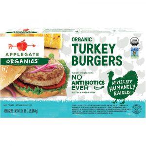 Applegate, Organic Turkey Burgers