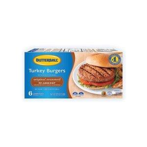 Butterball Original Seasoned Frozen Turkey Burgers