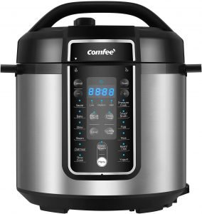 Comfee 6 Quart Pressure Cooker