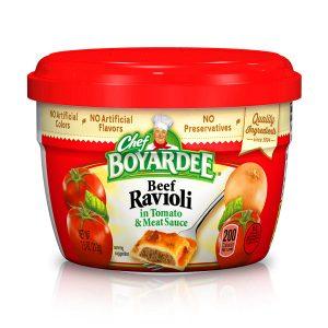 Chef Boyardee Beef In Tomato & Meat Sauce Ravioli