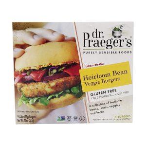 Dr. Praeger's, Heirloom Beans Veggie Burgers
