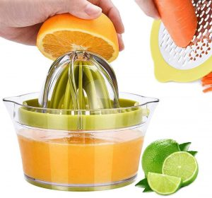 Drizom Citrus Lemon Orange Juicer Manual Hand Squeezer