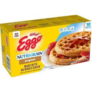Eggo, Nutri Grain, Frozen Waffles, Original