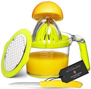 Eurolux 4 In 1 Manual Citrus Juicer