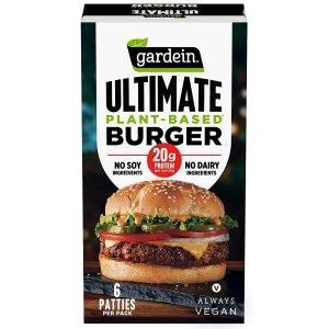 Gardein Ultimate Plant Based Burger, Vegan