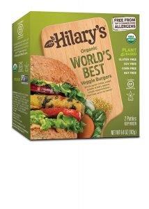 Hilary's, Organic The World's Best Veggie Burger