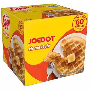 Joedot Frozen Waffles, Homestyle, Family Pack