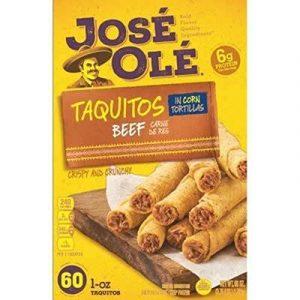 José Olé Taquitos Beef In Corn Tortillas
