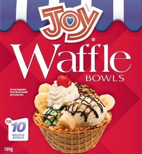 Joy Cone Waffle Bowls