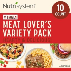 Nutrisystem Meat Lovers Variety Pack