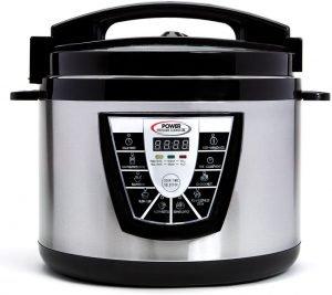 Power Pressure Cooker Xl 10 Quart Electric Pressure
