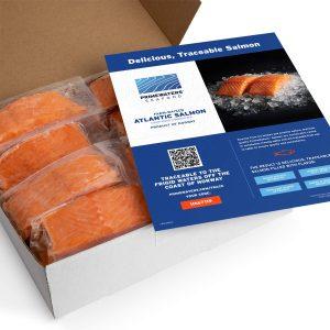 Prime Waters Atlantic Salmon From Norway