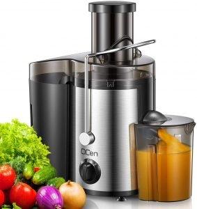 Qcen Juicer Machine, 500w Centrifugal Juicer Extractor
