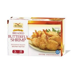 Sea Best 21 25 Butterfly Breaded Shrimp