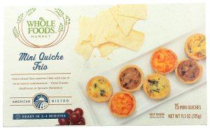 Whole Foods Market Mini Quiche Trio