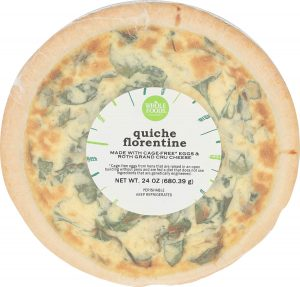 Whole Foods Market, Quiche Florentine