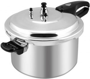 Barton 8 Quart Aluminum Pressure Cooker Stovetop Fast Cooker